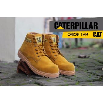 Sepatu Caterpillar Orion Safety Tan