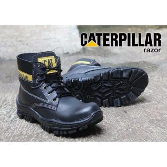 Sepatu Caterpillar Safety Razor Black