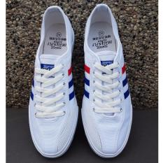 Sepatu Dragonfly Capung Legendaris Vintage White Canvas Sneakers Sport Import Original Not Kodachi
