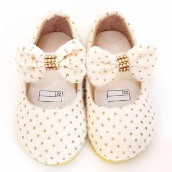 Daftar Harga Lunetta Sepatu Anak Flat Shoes Shining Luxe Merah Source · Sepatu flat gold bulu