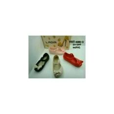 Sepatu Flat Shoes Anak Karet Cewe Perempuan Pita Ladia