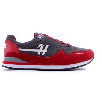 Sepatu H 5145 - Sepatu Pria - Merah Comb.
