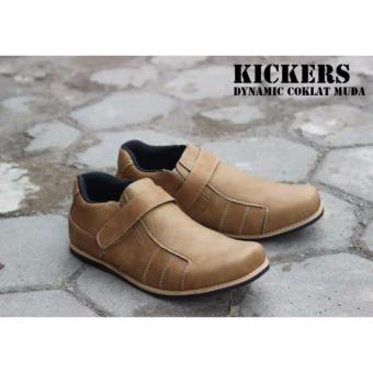 Sepatu Kickers Casual Dynamic Brown
