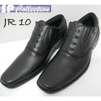 Sepatu Pantofel PDH JR 10 Kulit Asli Merk Jaferi Warna Hitam Untuk Ke Kantor cad70e111b
