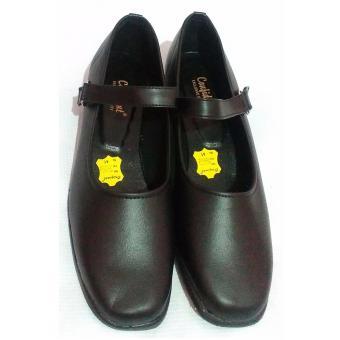 Sepatu Pantofel Wanita Bertali Paskibra Warna Hitam - Sepatu Formal Wanita b9391e84d1
