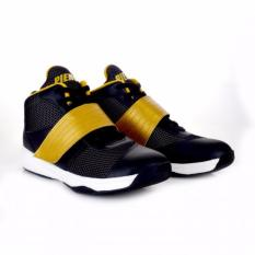 Sepatu piero original Basket Onimaru Black Gold White