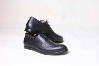 Harga Sepatu pria kulit kambing asli wingtips - PriceNia.com 49bb1d8ca1