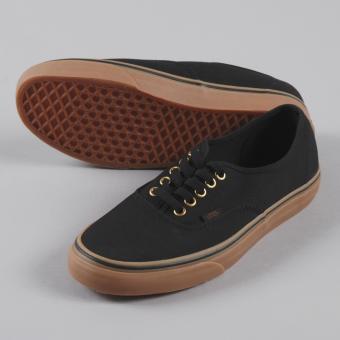 Sepatu Sneakers Vens Authentic Pro Skate - Black Gum
