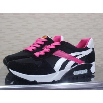 Sepatu Sneakers Wanita Blastee Stripe Air - Black