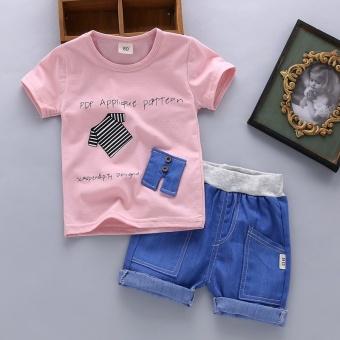 Kelebihan Kekurangan Panas Musim Fashion Kasual Anak Bayi Laki Source · Setelan Anak Laki laki Kaos