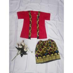 Setelan Kutubaru Anak / Baju Kartini Anak / Kutubaru Kartini / Baju Batik Anak 0-2 Tahun