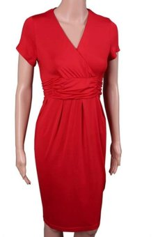 Sexy Women s Maternity Dress Club Wear Evening Cocktail Party Bodycon Slim  Fit Pencil Dress (red d322d0d4b