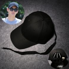 SHININGSTAR laki-laki musim gugur Korea Fashion Style topi ayat yang sama topi (Pita