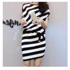 Shoppaholic Shop Dress Wanita Juliet Stripes
