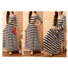 Shopping Yukz Dress Wanita Maxi Salur