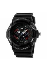 SKMEI S-Shock Sport Watch Water Resistant 50m - Jam Tangan Pria - Hitam - Strap Rubber - AD0966