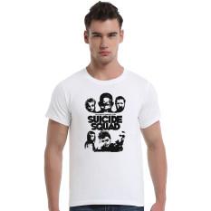 Suicide Squad Cotton Soft Men Short T-Shirt (White) - Intl