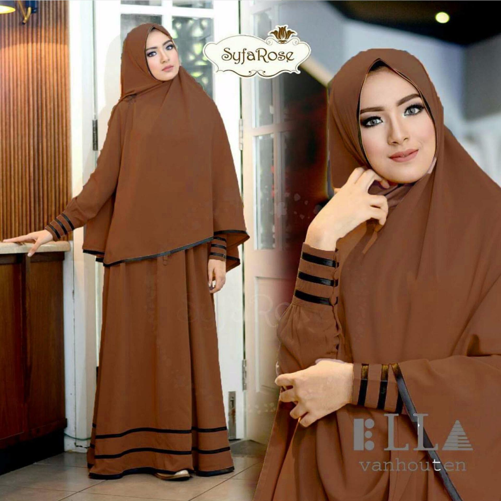 Suki Dress Hijab Syfarose Ungu Lazada Indonesia Source Suki