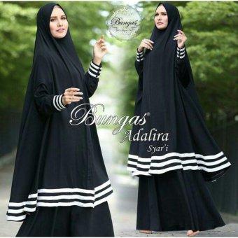 Suki Dress Muslim Adalira Syari'I - Black