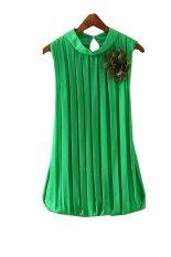 Summer Loose Casual T Shirt For Women (Green) (Intl)