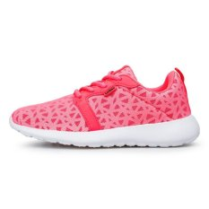 Summer Shoes Running Shoes Shoes Shoes Shoes 2016 Korean Lightweight Shoe Lovers Mesh Sports Shoes (Rose) - Intl