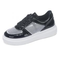 Summer Women's Shoes, Female Students Breathable Mesh Shoes (Black) - Intl