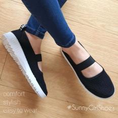 Sunny Girls OLA Sepatu Sneakers Wanita - 3355 Black