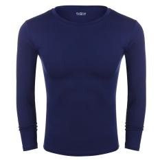 Sunwonder ?New Fashion Avidlove Men's Casual Long Sleeve Round Neck Bottoming Shirts (Pack Of 2)