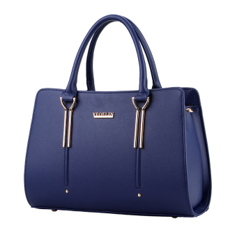 Sweet Women Handbag Messenger Lady Leather Top-Handle Bags Satchel Tote Blue