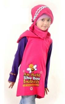 Syamsakids Baju Muslim Anak Sl019 Pink Lazada Indonesia