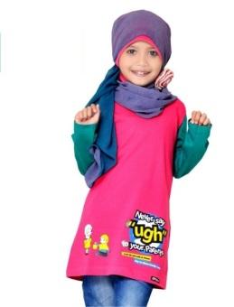 Syamsakids Baju Muslim Anak Sl028 Multicolor Lazada