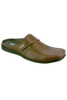 Syaqinah Sandal Pria - Coklat