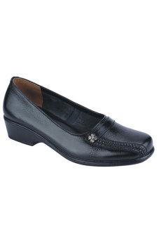Syaqinah Sepatu Pantofel Wanita - Hitam