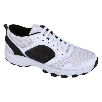Syaqinah Sepatu Running Pria - Putih