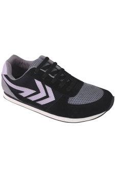 Syaqinah Sepatu Sneakers Pria - Abu Hitam