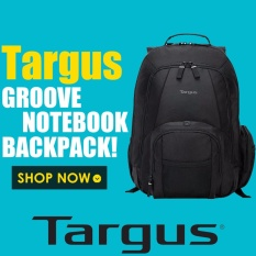 Targus Groove Notebook Backpack, Fits Laptop up to 16 Inches (CVR600) - intl