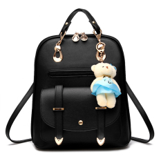 Tas Fashion - Trendy Korean Backpack - Black