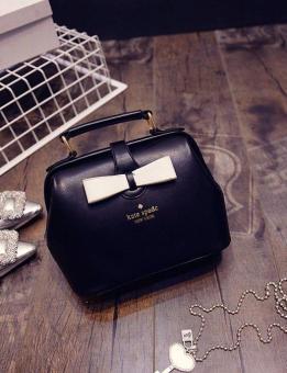 Tas Handbag Selempang Pita Cantik 03312 Black Kate Spade