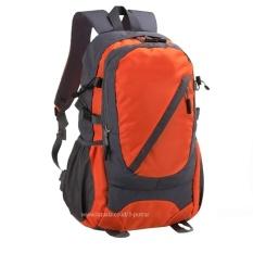 Tas Punggung / Ransel / Backpack / Tas Sekolah / Travel Bag ( 3P Backpack ) - Orange