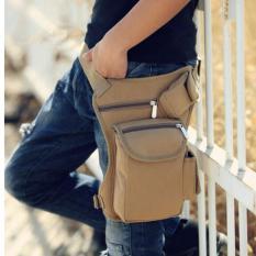 Tas Selempang Pria / Pinggang / Traveling Men's Waist Sling Bag - KHAKI