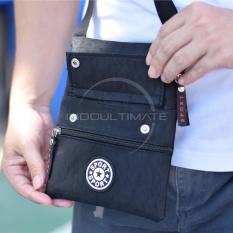 Tas Selempang Pria Sport/Outdoor/Import/Unisex/Slempang/Sling Bag Cocok Untuk Semua Usia JSL-016 - Black