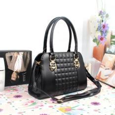 Tas Wanita Satchel Cantik 83326 Black Import