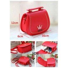 Tas Wanita Trendy Lestari Fashion Ts&b 025 Mini Bag Merah Marun Daftar Harga .