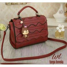 Tas Wanita Trendy Lestari Fashion Ts&B 007 - Red