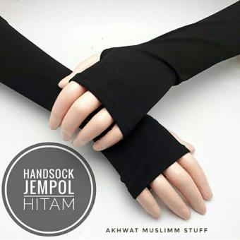 TERLARIS HANDSOCK JEMPOL HITAM BEST SELLER