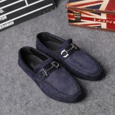The New British Style Men's Fashion All-match Pedal Shoes Casual Shoes Men Lazy Peas - Intl