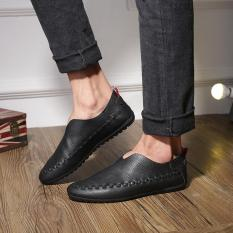 The New Korean Men's Fashion Leisure Shoes Pedal Doug Lazy Men - Intl