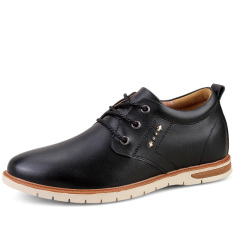The New Men's Soft And Comfortable Leisure Leather Shoes - Intl