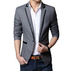 Jas Pria Casual Style Wool TF 04 Grey. Tiara Fashion Jas Pria .