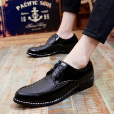 Tidog British Business Casual Shoes The Stylist Han Edition Tide Male Wedding Shoes